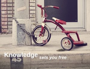knowledge sets you free
